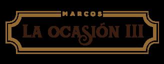 Marcos La Ocasion III